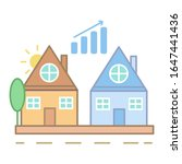 rise in property prices icon....