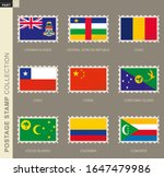postage stamp with flag ...   Shutterstock .eps vector #1647479986