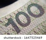 macro  pln  polish 100 zloty... | Shutterstock . vector #1647525469