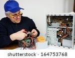 electrician | Shutterstock . vector #164753768