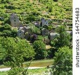 gorges du tarn  lozere ... | Shutterstock . vector #164754683
