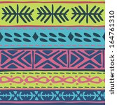 tribal pattern | Shutterstock .eps vector #164761310