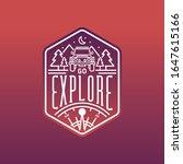 go explore  outdoors  camping ...   Shutterstock .eps vector #1647615166