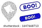 mosaic evil dog marker and... | Shutterstock .eps vector #1647668713