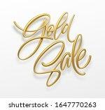 realistic golden inscription... | Shutterstock .eps vector #1647770263