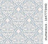 french blu shabby chic damask... | Shutterstock .eps vector #1647773440