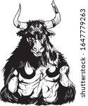 minotaur fabulous mythical... | Shutterstock .eps vector #1647779263