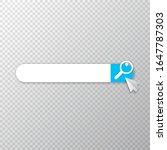 search bar icon design template....