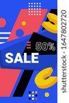 vector bright modern abstract... | Shutterstock .eps vector #1647802720