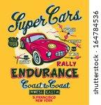 coast to coast rally   vector... | Shutterstock .eps vector #164784536