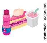 colorful dessert icon.... | Shutterstock .eps vector #1647853486