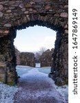 Entrance To Inverlochy Castle...