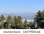 A beautiful view of Kashmir hills from Murree Bhurban