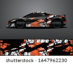 sport car decal graphic wrap... | Shutterstock .eps vector #1647962230