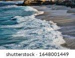 Waves In The Pacific Ocean...