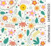 concept design with colorful... | Shutterstock .eps vector #1648026010