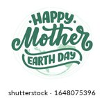 celebrate mother earth day  22... | Shutterstock .eps vector #1648075396