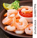 Tails Of Shrimps With Fresh...