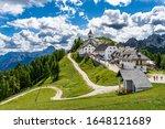 The Sanctuary Of Monte Lussari...