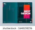 brochure template layout design.... | Shutterstock .eps vector #1648158256
