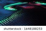 Abstract Digital Shock Wave...