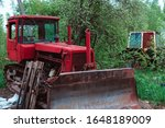 old tractors and other farm... | Shutterstock . vector #1648189009