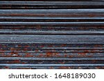 a stack of leaves of wave slate.... | Shutterstock . vector #1648189030