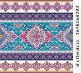 indian rug tribal ornament... | Shutterstock .eps vector #1648268293