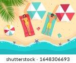 vector illustration couple... | Shutterstock .eps vector #1648306693