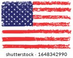 grunge usa flag.vintage...   Shutterstock .eps vector #1648342990