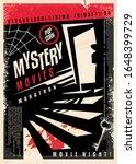 Mystery Movies Cinema Poster...