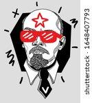 feb. 18  2020. vladimir lenin... | Shutterstock .eps vector #1648407793