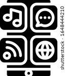 applications   multimedia icon...