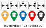 gap  text icon. simple glyph ...