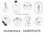 beauty occult logo collection... | Shutterstock .eps vector #1648491670