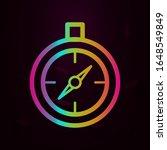 compass nolan style icon....