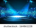 disco background   Shutterstock .eps vector #164861228