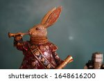 Rabbit Figurine Playing...