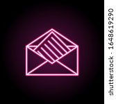letter from envelope icon....