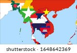 center the map of thailand.... | Shutterstock .eps vector #1648642369