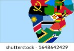 center the map of namibia.... | Shutterstock .eps vector #1648642429