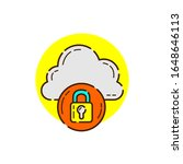 safety cloud computing for...   Shutterstock .eps vector #1648646113