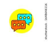 hidden chat for cyber security...   Shutterstock .eps vector #1648646116