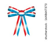 luxembourg flag  rosette and... | Shutterstock .eps vector #1648647373