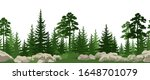 seamless horizontal summer...   Shutterstock .eps vector #1648701079