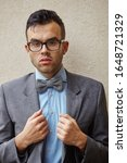 Businessman With Glasses And...
