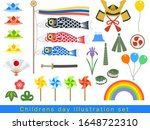 may 5 children's day set | Shutterstock .eps vector #1648722310