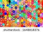 abstract moving circular lines  ... | Shutterstock . vector #1648818376