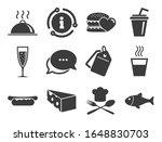 Alcohol  Fish And Burger Signs. ...