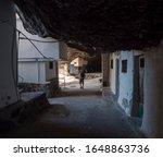 Tourist Man At Cueva De...